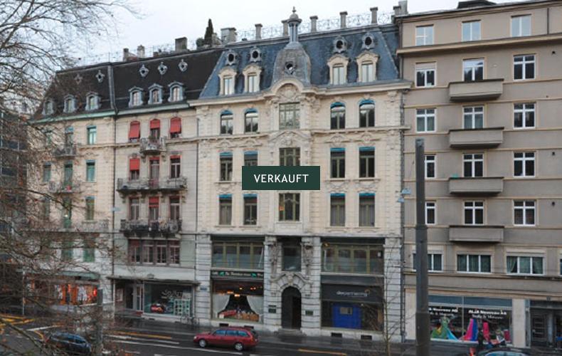 Wohn- und Geschäftsliegenschaft, Stadtzentrum von Biel<br>Verkauft